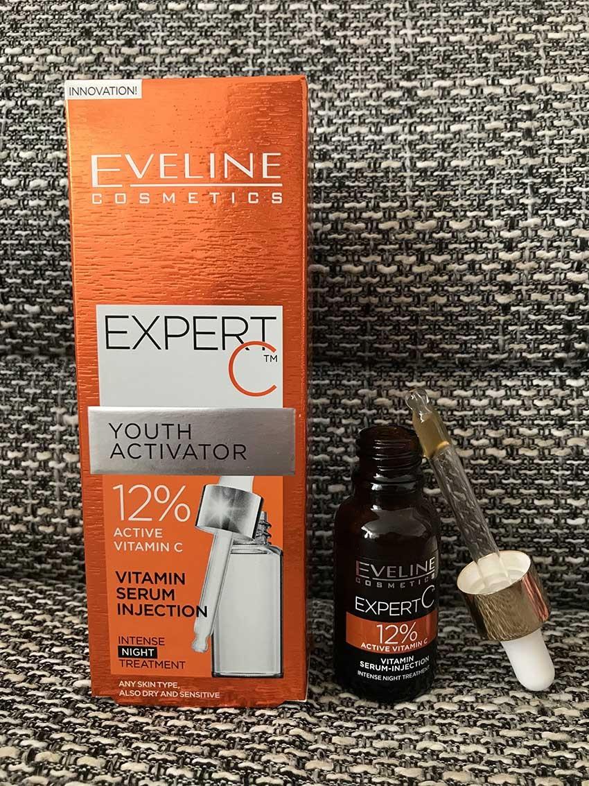 Intenzivní vitaminové noční sérum Expert C Eveline Cosmetics