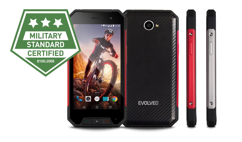 EVOLVEO StrongPhone Q7 LTE - odolný, přesto však elegantní mobilní telefon