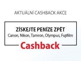 Akce CASHBACK