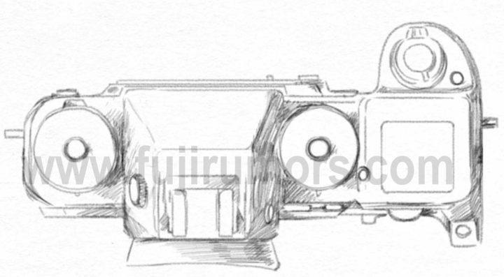 Fujifilm X-H1 podle fujirumors.com
