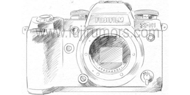 Fujiflm chystá novou bezzrcadlovku X-H1
