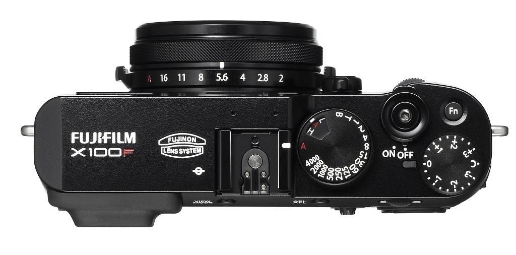 Fujifilm X100F ovládací objímky