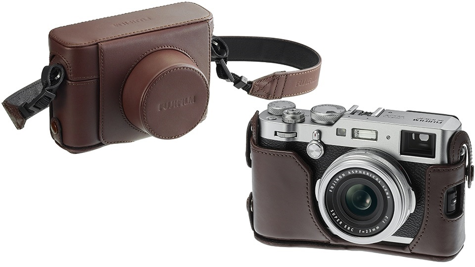Fujifilm X100F pouzdro kožené volitelné hnědé