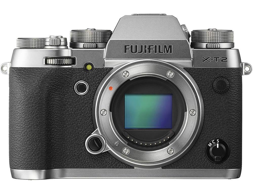 Fujifilm X-T2 Graphite Silver CES 2017