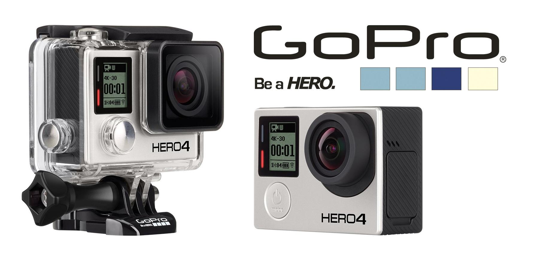GoPro Hero4 - věrný společník pro extrémní situace