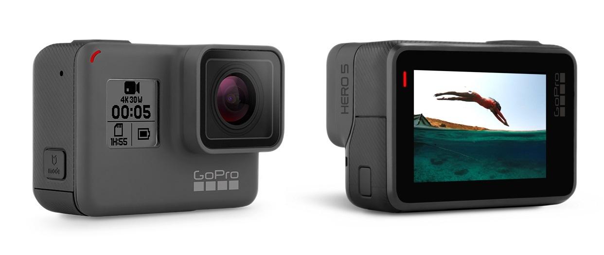 GoPro HERO5 Black – akční kamera nyní s dárkem v hodnotě 2 099 Kč
