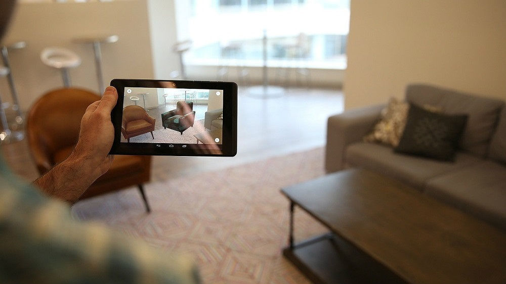 Lowe's Vision Google Tango aplikace rozšířená realita