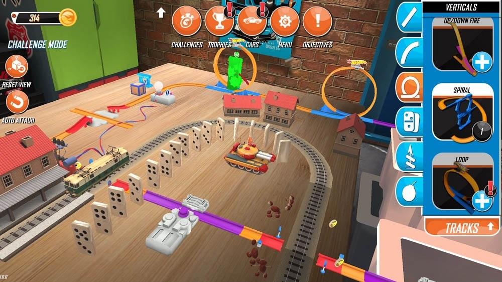 Hot Wheels Google Tango aplikace rozšířená realita