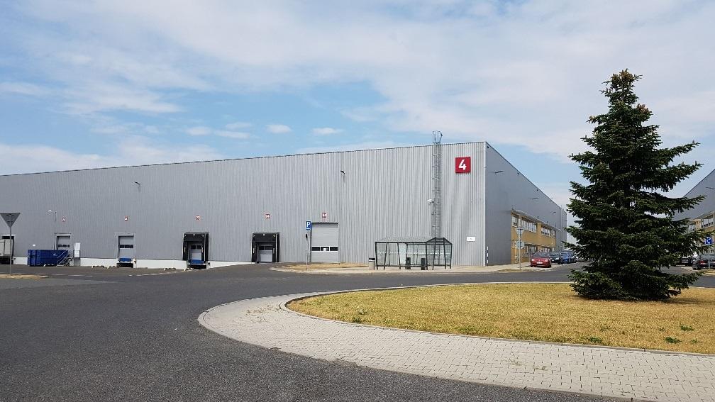 logistické centrum Alza.cz Zdiby