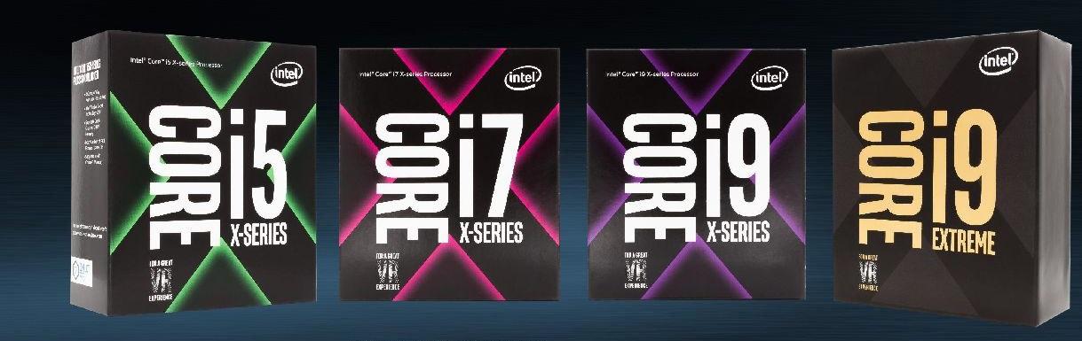 Procesory Intel Core; platforma Intel X299