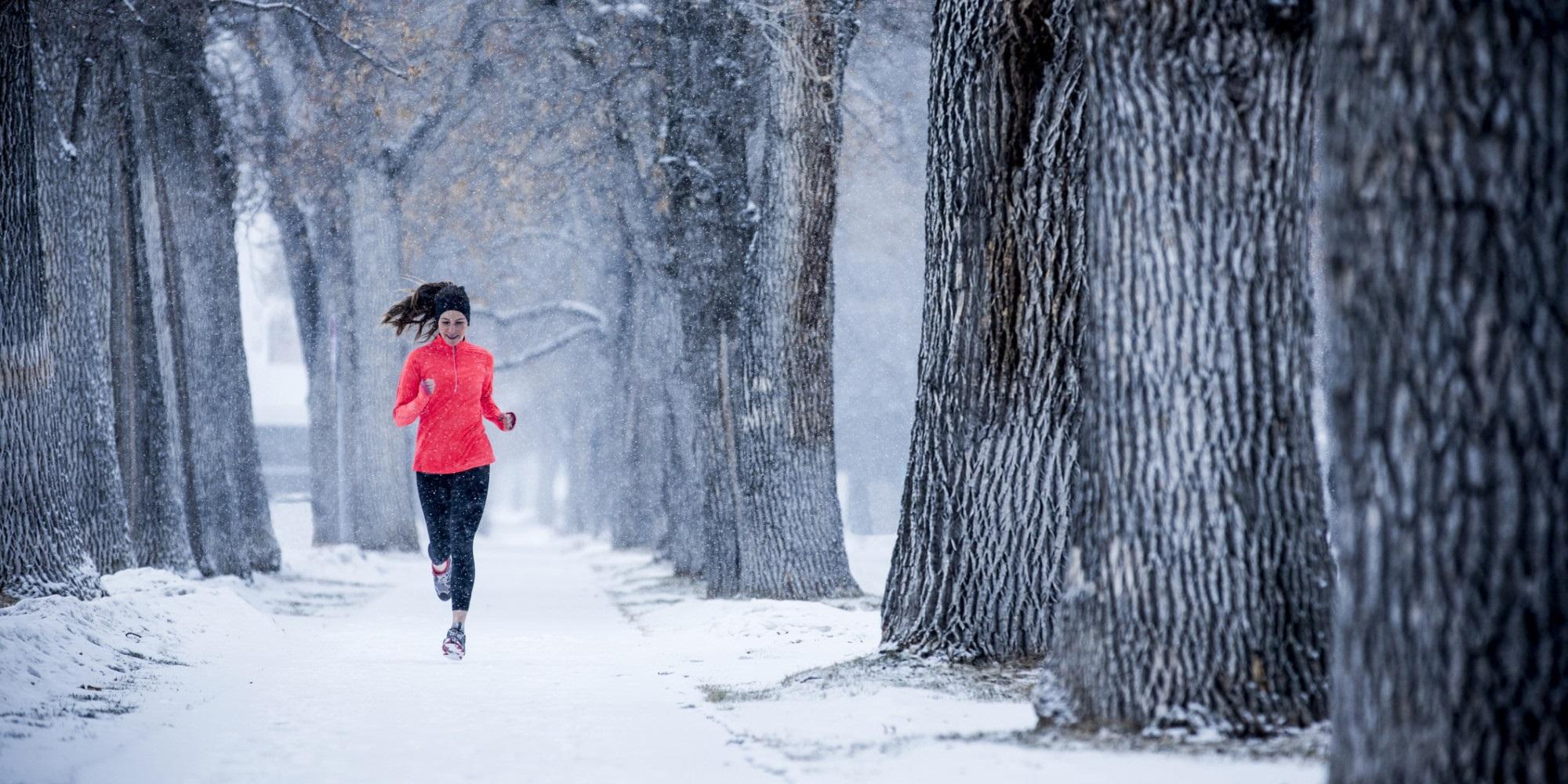 Průvodce běháním #1: Jak běhat v zimě