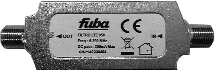 LTE filtr Fuba LTE050