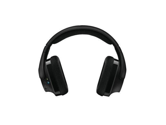 Logitech G533 Wireless Gaming Headset; sluchátka s prostorovým zvukem