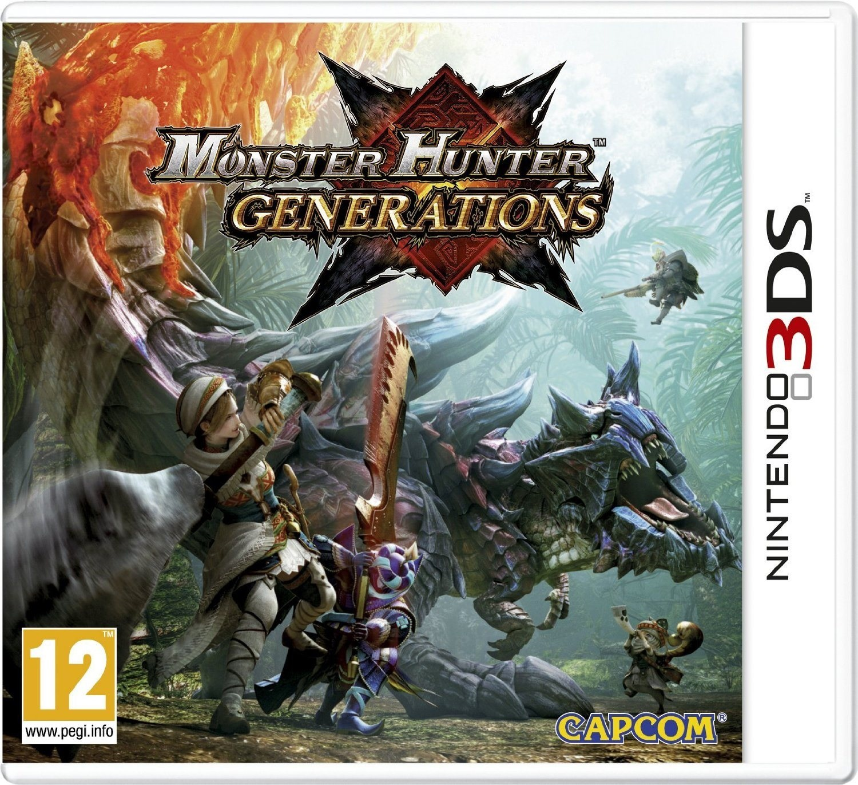 Monster Hunter Generations - Nintendo 3DS