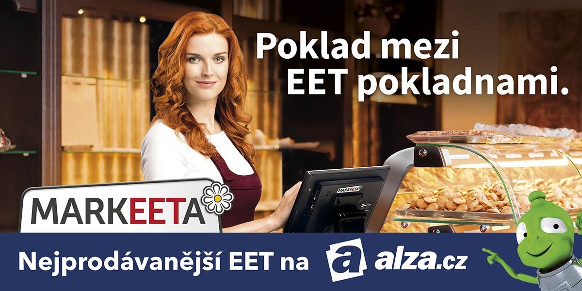 Registrační pokladny Markeeta jsou nejprodávanějším EET řešením na Alza.cz