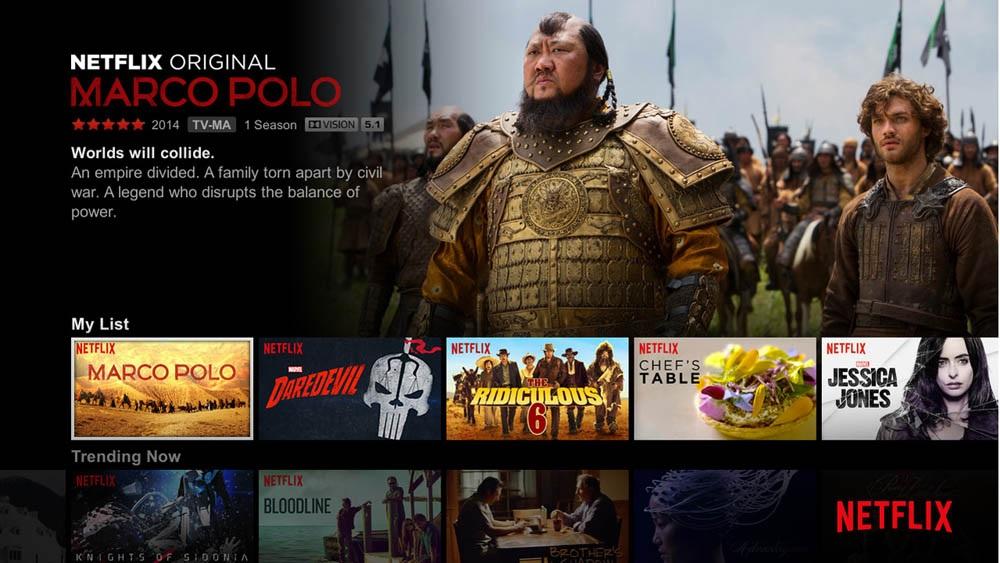 HDR video Netflix videotéka