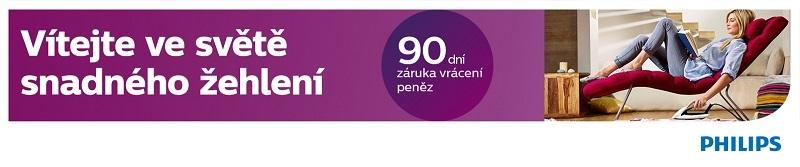 Philips PerfectCare, 90 dní záruka vrácení peněz