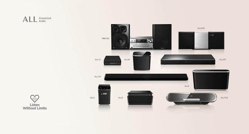 Multi-room Reproduktory Panasonic ALL