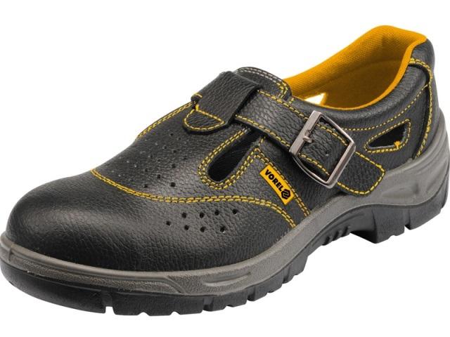 Pracovní obuv s vystuženou tvrzenou špičkou