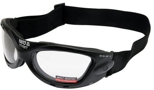 Ochranné brýle pracovní ochrana zraku