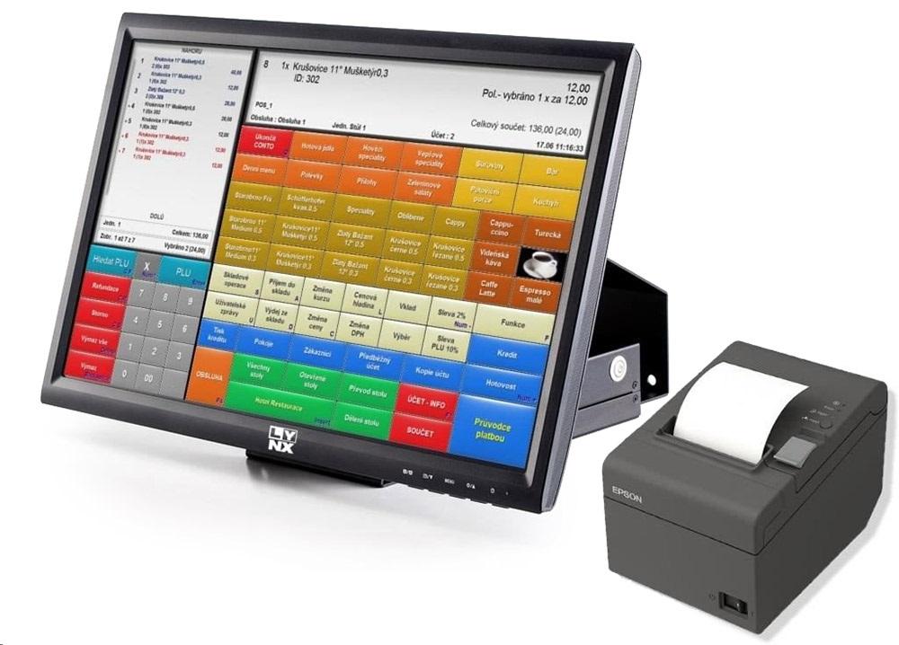 EET registracni pokladna LYNX software Conto