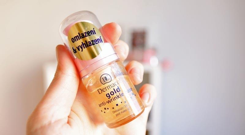 Podkladová báze Dermacol Gold Anti-wrinkle