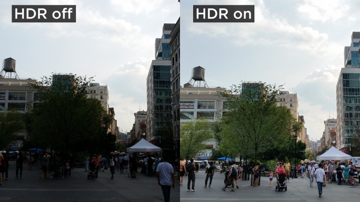 HDR foto video detaily