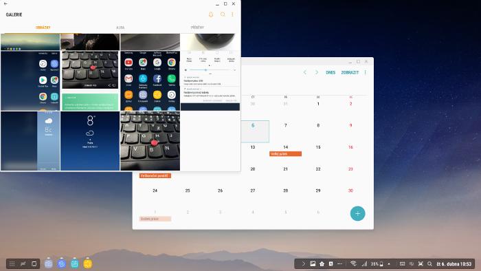 Samsung DeX, multitasking