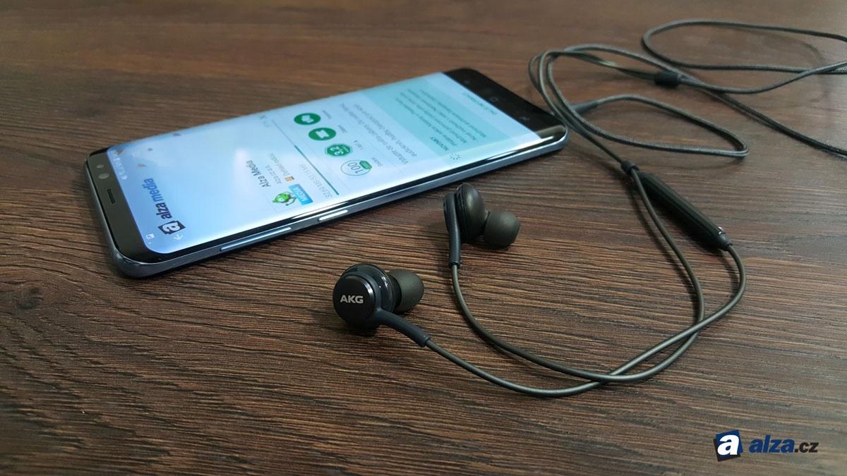 Samsung Galaxy S8 a S8+, sluchátka AKG