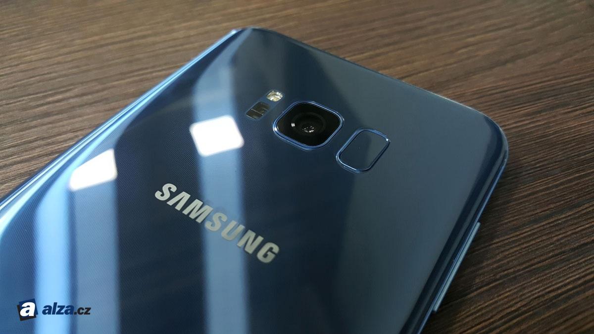 Samsung Galaxy S8+, modul fotoaparátu