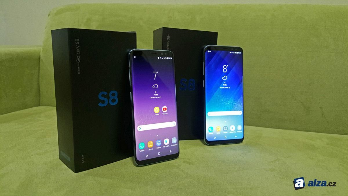 Samsung Galaxy S8 a S8+, balení