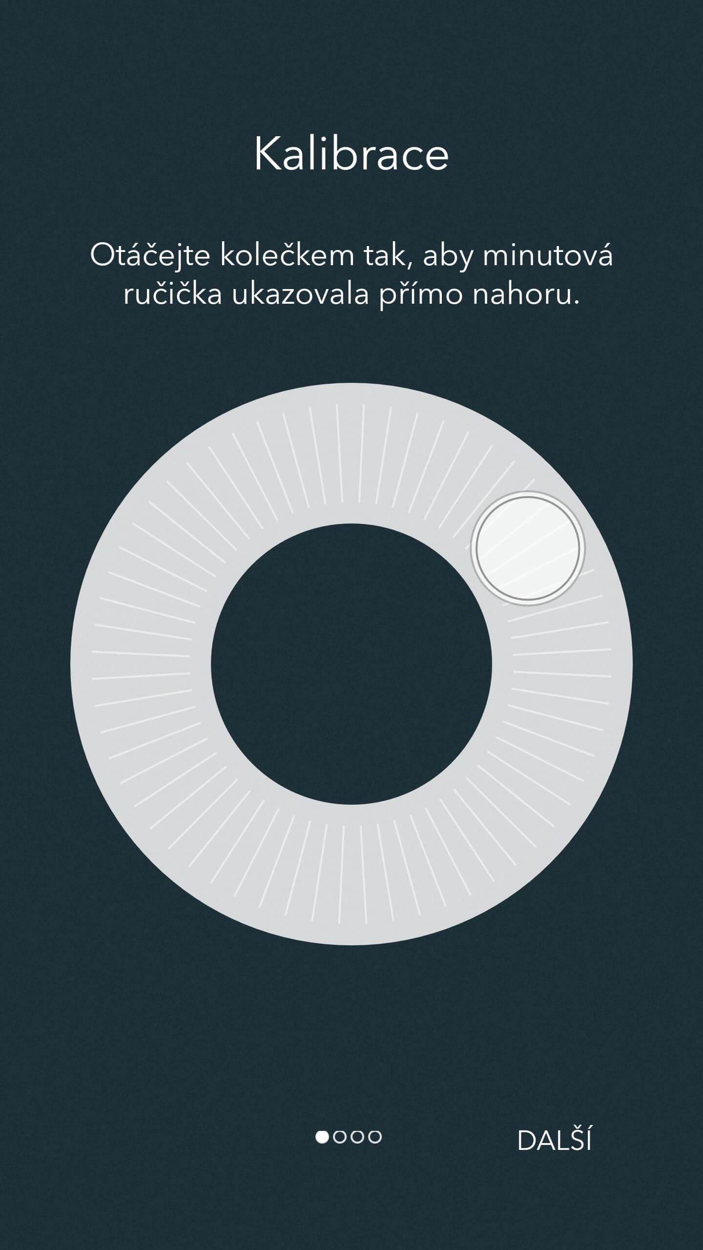 Kronaby chytré hodinky aplikace nastavení