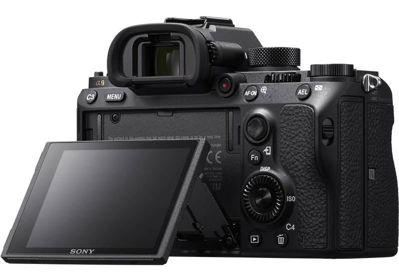 Sony Alpha 9 A9 displej