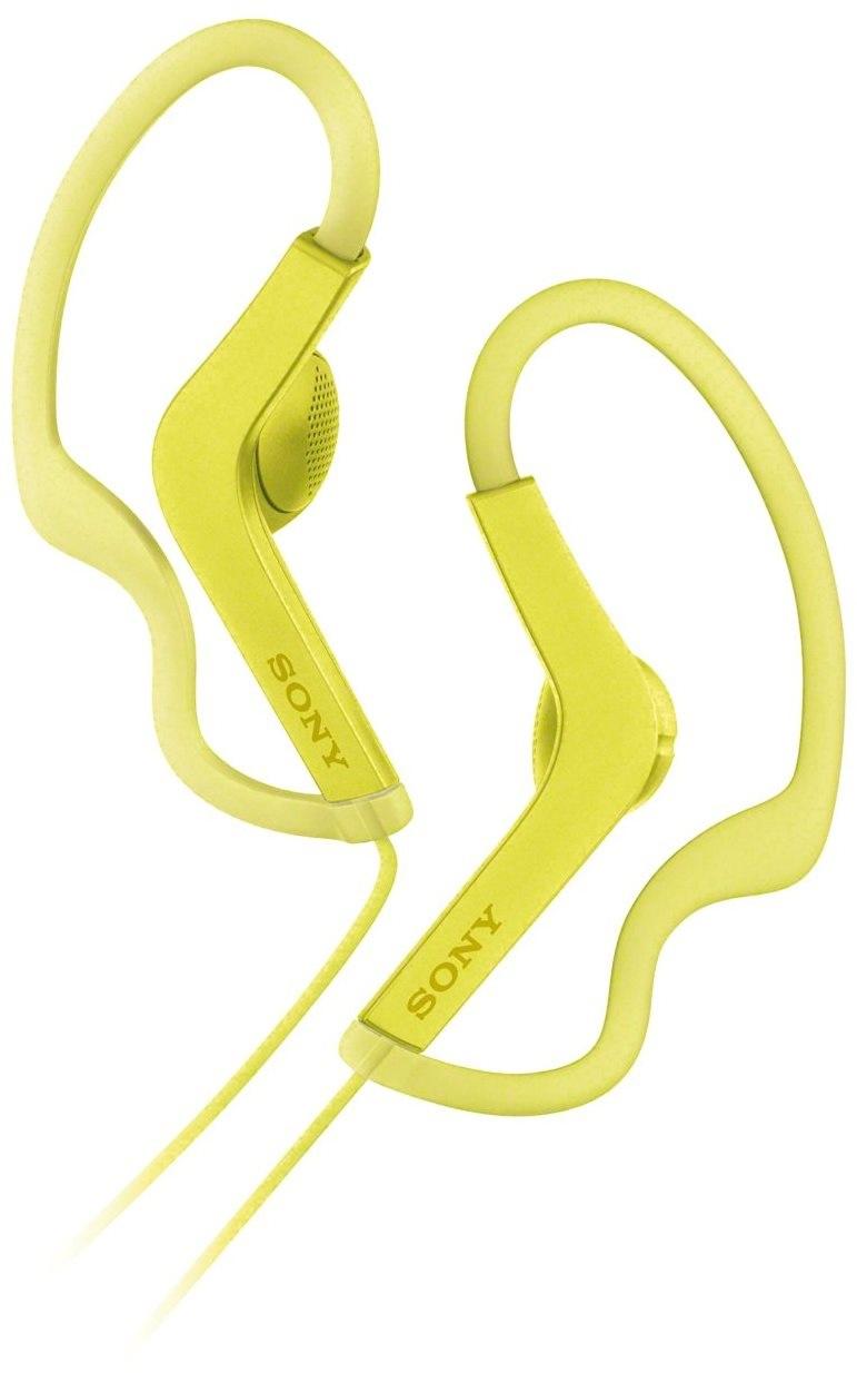SONY MDR-AS210; žlutá