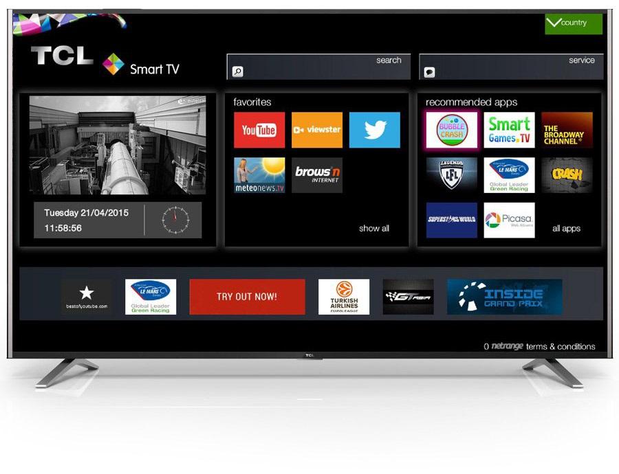 TCL SMART TV 2 U55S7906 hbbTV