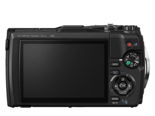Olympus TG-5; celkový pohled