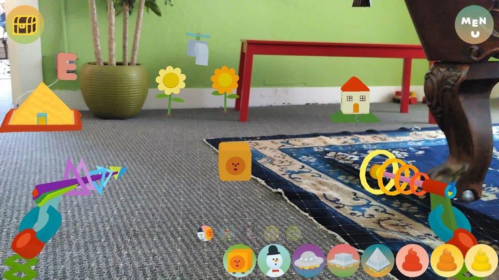 Woorld Google Tango aplikace rozšířená realita