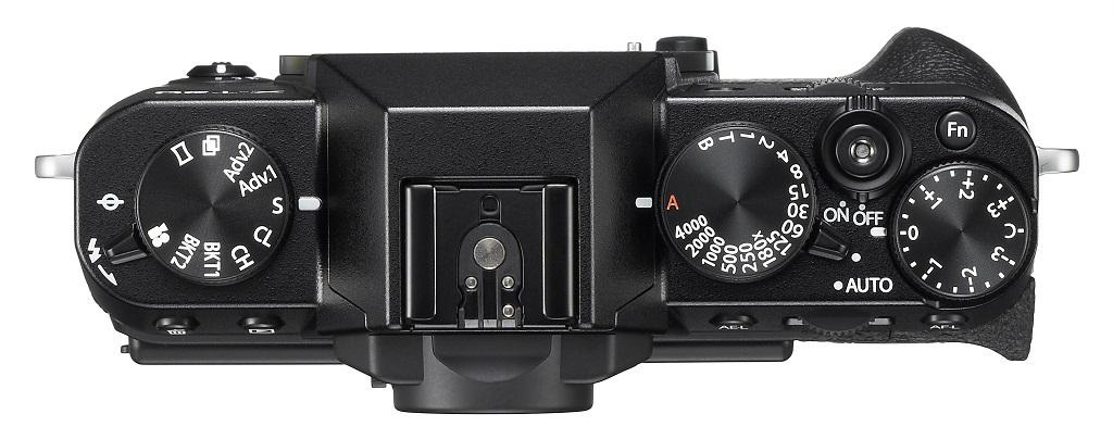 Fujifilm X-T20 otočené voliče tlačítla