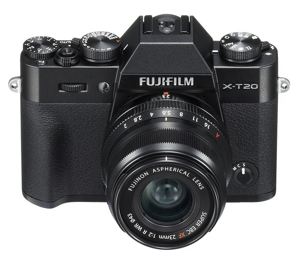 Výměnné objektivy Fujifilm X-T20 fotoaparát