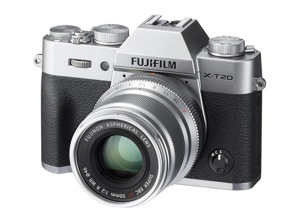 Fujifilm X-T20 objektivy Fujinon FX