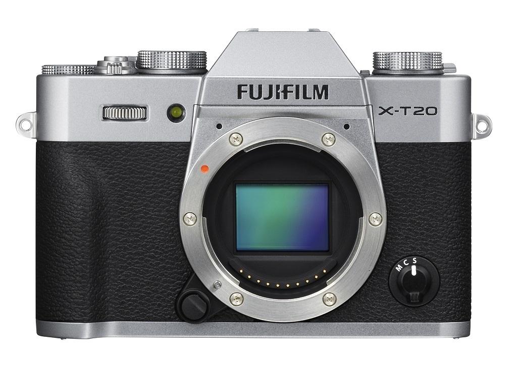 Fujifilm X-T20 stříbrná