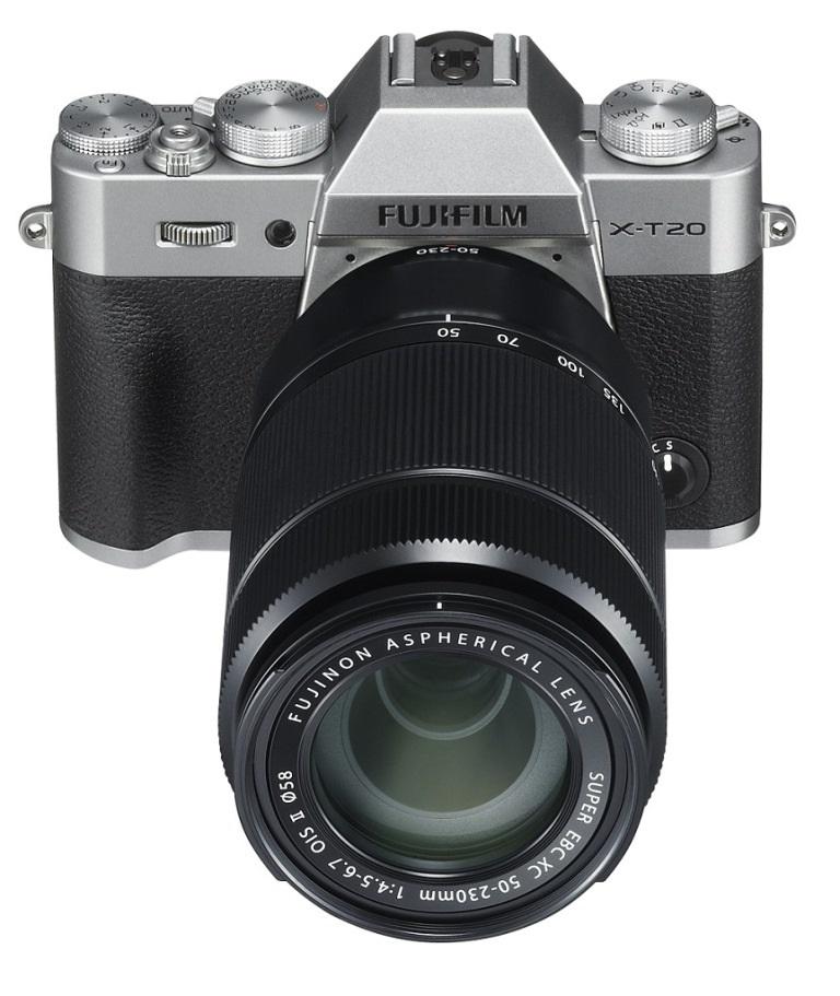 X-T20 Fujifilm objektivy kompakt
