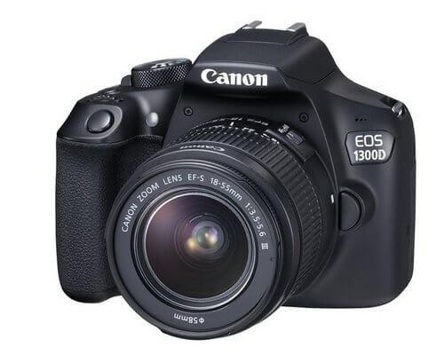 Zrcadlovka pro začátečníky Canon EOS 1300D