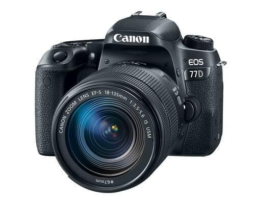 Zrcadlovka pro začátečníky Canon EOS 77D