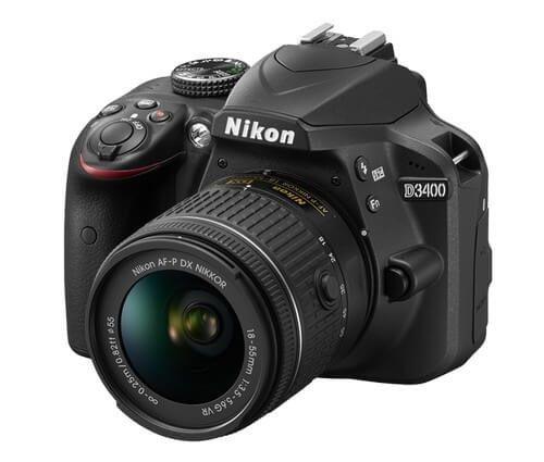 Zrcadlovka pro začátečníky Nikon D3400