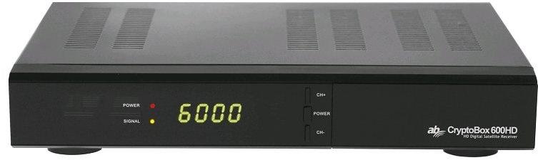 AB Cryptobox 600HD - satelitní přijímač
