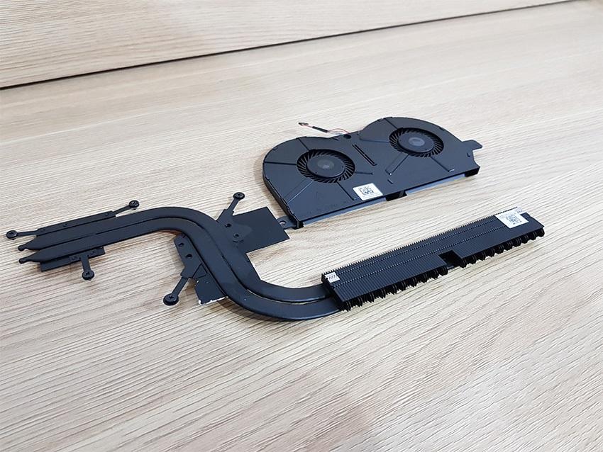 Acer Spin 5 – chladící systém