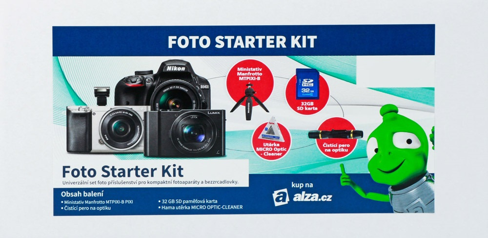 Alza Foto Starter Kit 32GB