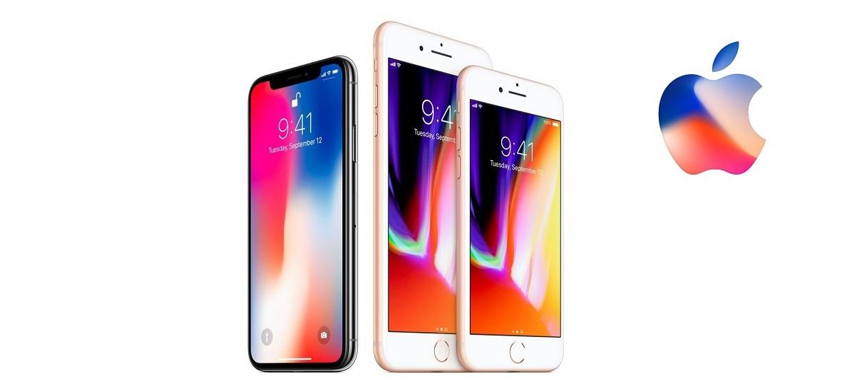 Apple iPhone 8; iPhone 8 Plus; iPhone X