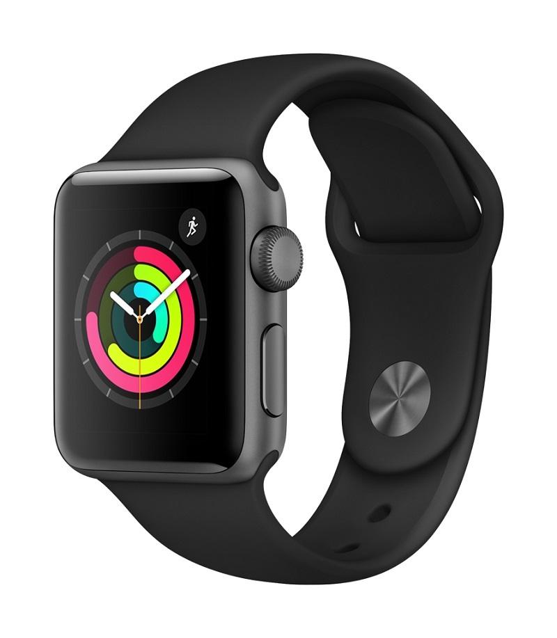 Apple Watch 3; černá